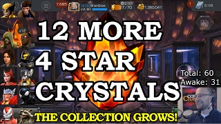 getlinkyoutube.com-12 FOUR STAR Crystal Opening with Spreadsheet | Marvel Contest of Champions