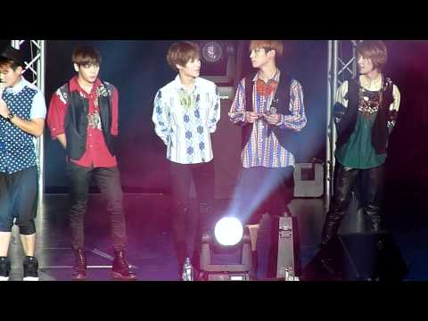 120615 SHINee @ Boyz Nite Out - Finale (Ontae focused) [HD]