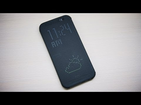 HTC One (M8) Dot View Cover Review