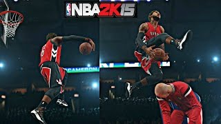 NBA 2K15 MyCAREER S3 - All Star Weekend Slam Dunk Contest ! | Rocking The Space Jam CamGods !