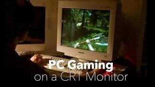 getlinkyoutube.com-Modern PC Gaming on a CRT