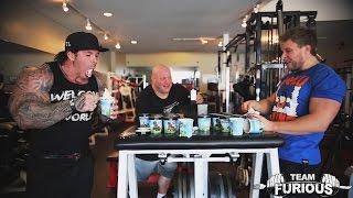 getlinkyoutube.com-Ben and Jerry's Ice Cream Eat Off vs Rich Piana | Furious Pete