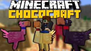 Minecraft: CHOCOCRAFT MOD (Breed Animals, Nether Items & More) Mod Showcase