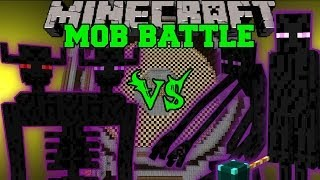 getlinkyoutube.com-ENDER TITAN VS MUTANT ENDERMAN & ENDER LORD - Minecraft Mob Battles - Farlanders Mods