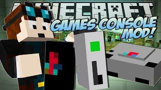 getlinkyoutube.com-Minecraft | GAMES CONSOLE MOD (Xbox, Playstation & More!) | Mod Showcase