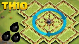 getlinkyoutube.com-TH 10 Dark Elixir Base   COC Town Hall 10 De Farming Base   Clash Of Clans