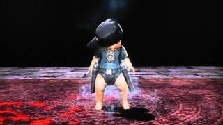 getlinkyoutube.com-MK9 All Babalities (including Kratos, Kintaro, Goro and Shao Kahn)