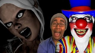 getlinkyoutube.com-Emily Wants To Play Gameplay | HIDE AND SEEK CLOWN GLITCH?! Part 3