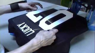 getlinkyoutube.com-Heat Transfer Tee Shirts With Names & Numbers