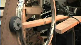 getlinkyoutube.com-#4 EPG Winder, Home Maid Troid Winder 75% Done & Winding A Test Coil! Live! :)