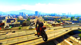 GTA V Unbelievable Crashes/Falls - Episode 10