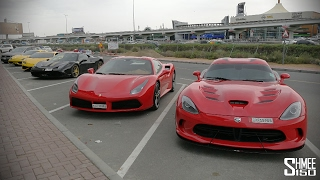Back in DUBAI! Classic Cars vs Supercars