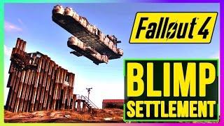 getlinkyoutube.com-Fallout 4 Settlement Build Defensible Settlement (Top Survival Base Build, Best Settlement)