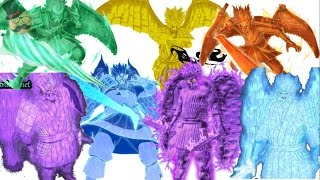getlinkyoutube.com-Naruto: Top 7 strongest Susanoo