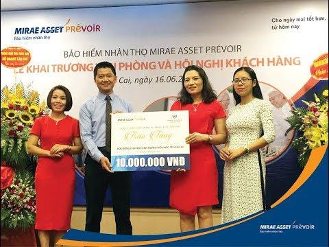 MAP Life khai trương VPKD Bảo hiểm Nhân thọ tại Lào Cai