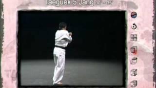 5ο Πούμσε: Τάεγκουκ Ο Τζανγκ (Poomsae Taeguek Oh Jang)