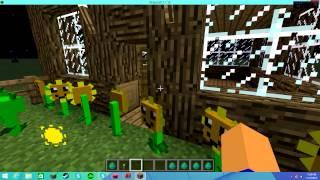 "getlinkyoutube.com-Minecraft Mod ""Plants Vs Zombies"" for 1.7.10"
