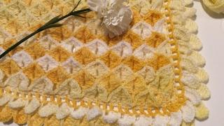 getlinkyoutube.com-TEJE MANTA BB PINEAPPLE - Crochet fácil y rápido - Yo Tejo con LAURA CEPEDA