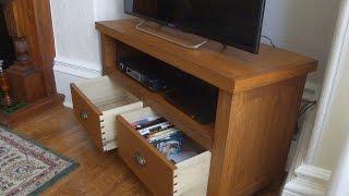 getlinkyoutube.com-Oak TV Stand