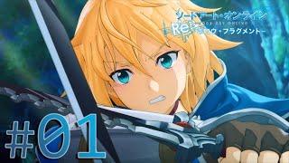 getlinkyoutube.com-【PS4】「ソードアート・オンライン Re:  ホロウ・フラグメント  」Episode#01