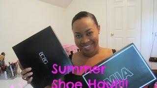 getlinkyoutube.com-Summer Shoe Haul (DSW & 6PM)