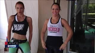 Catalina Quintero nos habla de ejercicios fáciles de hacer y desde casa