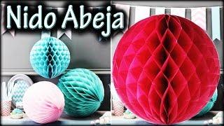 getlinkyoutube.com-BOLA/ESFERA Nido de ABEJA | Decoración para fiesta