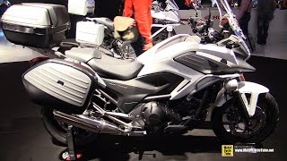 getlinkyoutube.com-2015 Honda NC750X DCT Travel Edition - Walkaround - 2014 EICMA Milano Motocycle Exhibition
