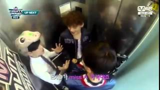 getlinkyoutube.com-Got7แบมแบม & EXOเซฮุน เฉิน Mcount down [CUT]
