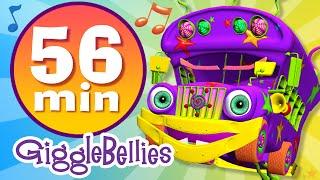 getlinkyoutube.com-Wheels on the Bus | 20 more Nursery Rhymes | GiggleBellies