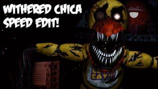 getlinkyoutube.com-Nightmare WITHERED CHICA | Speed Edit!