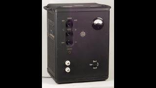 getlinkyoutube.com-Historic 150W Tube Amplifier Telefunken Ela V407 from 1937