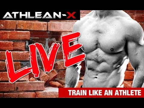 Your Workout and Nutrition Questions Answered - ATHLEAN-X LIVE