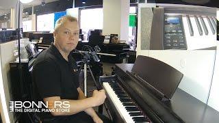 getlinkyoutube.com-Yamaha CLP545 Digital Piano Quick Demo By Bonners Music UK