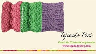 getlinkyoutube.com-Trenzas u ochos tejidas en crochet