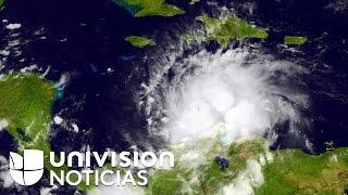 getlinkyoutube.com-El huracán Matthew es el ciclón más poderoso que amenaza al Caribe desde 2007