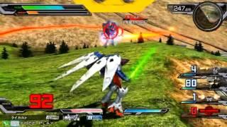 getlinkyoutube.com-Gundam EXVSFB 30/12 4v4 Freedom Tournament Finals