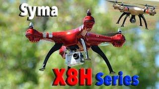 getlinkyoutube.com-SYMA X8HC X8HG X8HW Auto Altitude Hovering RC Quadcopter Drone Series