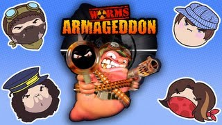 getlinkyoutube.com-Worms Armageddon - Steam Rolled
