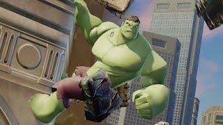 getlinkyoutube.com-Disney Infinity 2.0 - Marvel Super Heroes - All Hulk Crossover Coins & Missions - Spider-Man Part 11