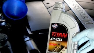 getlinkyoutube.com-How To Change The Transmission Fluid On Your Mercedes Benz S500 722.6 Transmission