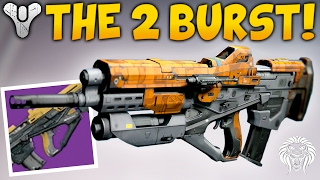 getlinkyoutube.com-Destiny: THE 2 BURST KING! God Roll Spare Change.25 Review & Gameplay - Patch 2.5.0.2