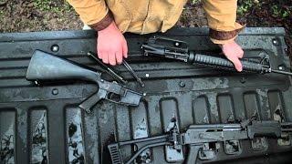 getlinkyoutube.com-So Sánh Sức Mạnh Súng Trường AK-47 và M16