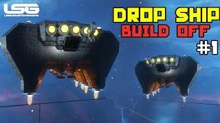 getlinkyoutube.com-Space Engineers - Drop Ship Build Off #1