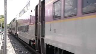 getlinkyoutube.com-MBTA Commuter Rail Ashland, MA 7-13-09