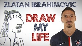 getlinkyoutube.com-Zlatan Ibrahimovic | Draw My Life