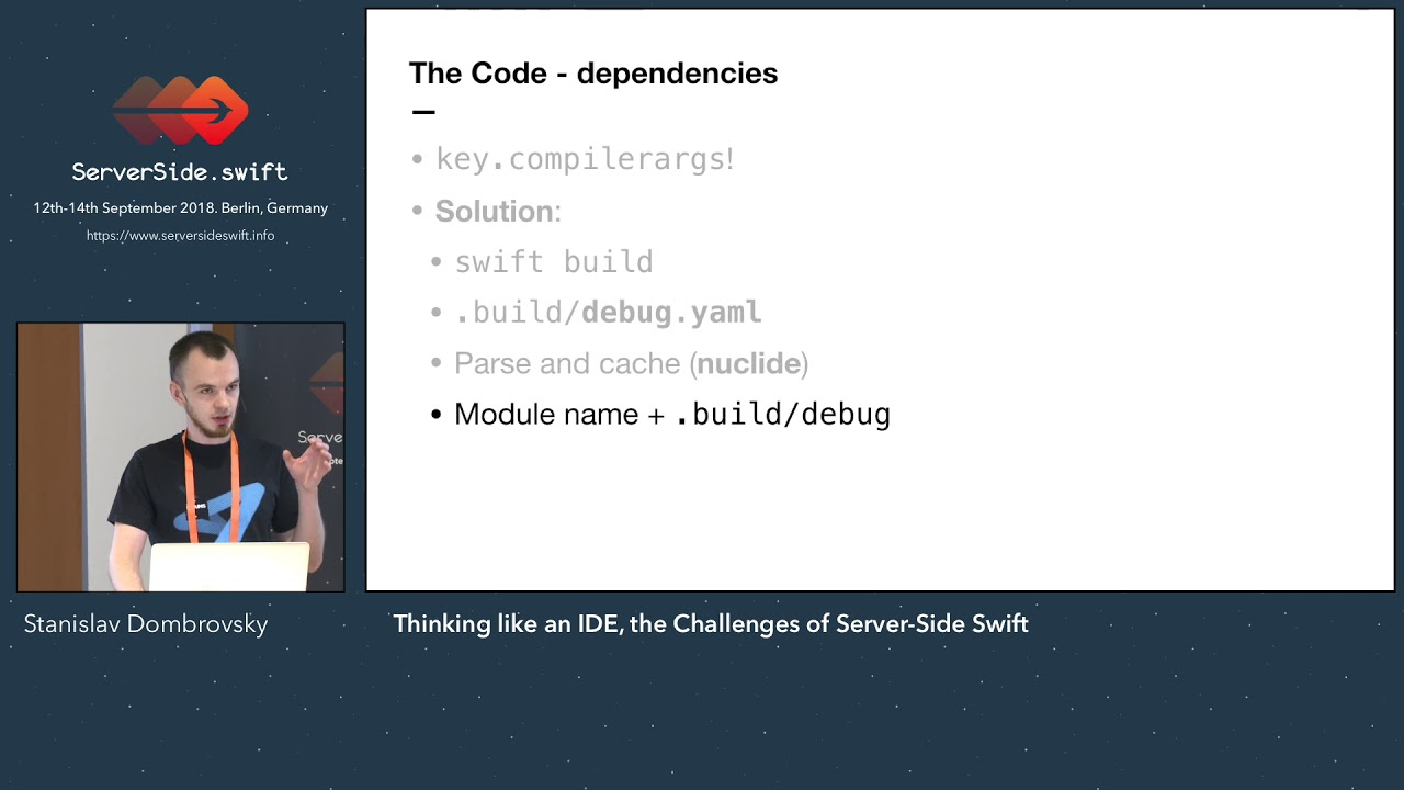 Thinking like an IDE, the Challenges of Server Side Swift