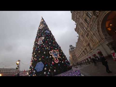 Москва, Новый год и Рождество / Moscow, Christmas & Happy New Year