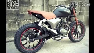 getlinkyoutube.com-Keeway RKV 200 custom v4  Scarmble