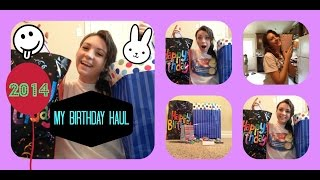 getlinkyoutube.com-14th Birthday haul with backpack , makeup and more!